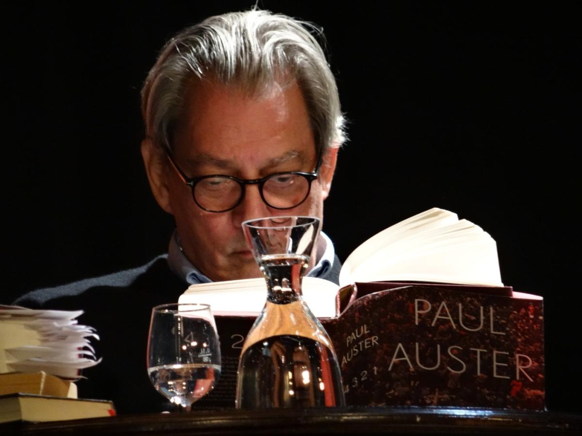 Paul Auster - 4 3 2 1 (Kino Museum, Tübingen)